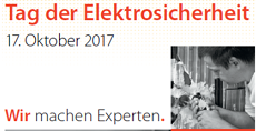 Tag der Elektrosicherheit